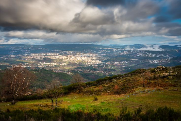 Vila Real is in the North of Portugal.