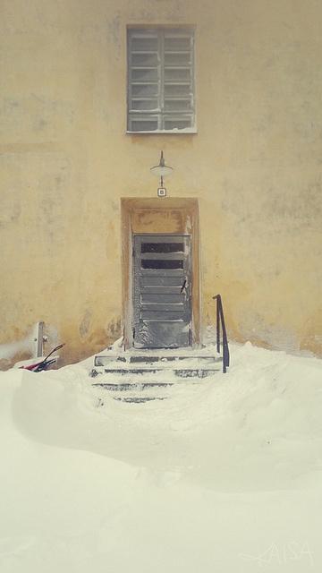 Suomenlinna, winter 2012. Helsinki (Finland).