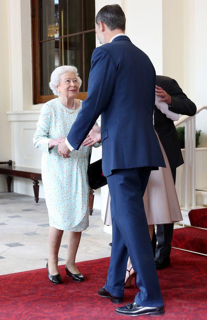 Queen Elizabeth & King Felipe 14 Jul 2017