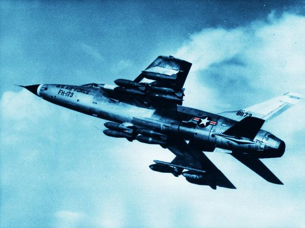 "77 Best Images About Republic F-105 ""ThunderChief"" On"