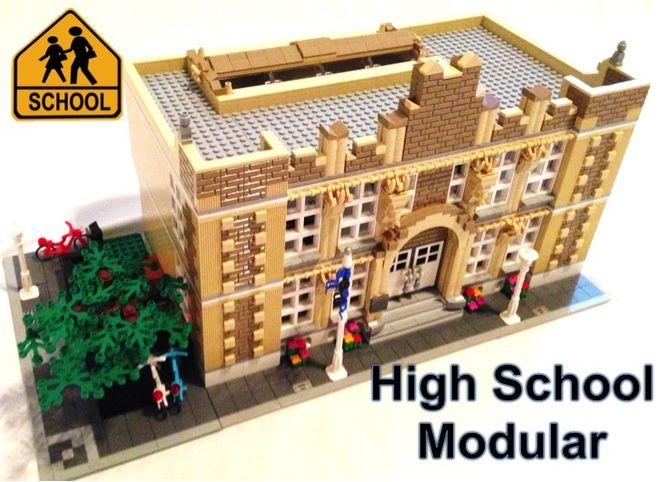 LEGO Ideas - High School - LEGO Modular