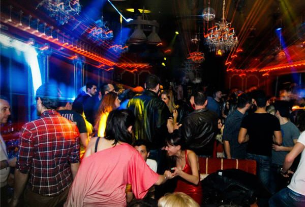 Night Clubbing in Thessaloniki
