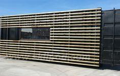 zeecontainer ombouw skilpod tuinkantoor