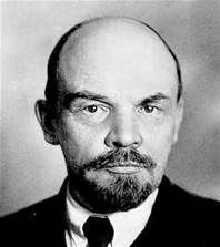 Lenin - The architect of Russia's 1917 Bolshevik revolution and the first leader of the Union of Soviet Socialist Republics. A prominent Marxist.