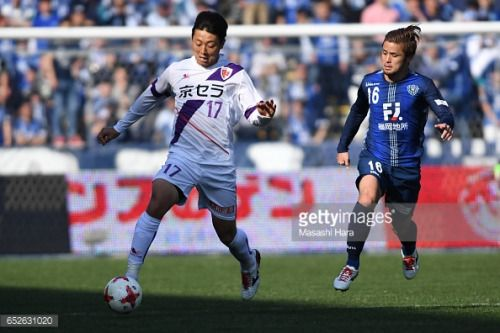 03-14 FUKUOKA, JAPAN - MARCH 12: Yusuke Muta of Kyoto Sanga in... #muta: 03-14 FUKUOKA, JAPAN - MARCH 12: Yusuke Muta of Kyoto Sanga… #muta