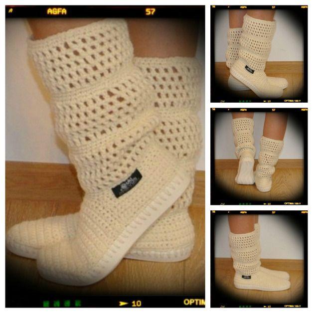 simply uki http://en.dawanda.com/product/61506863-Crochet-boots-summer-boots-woman-for-street