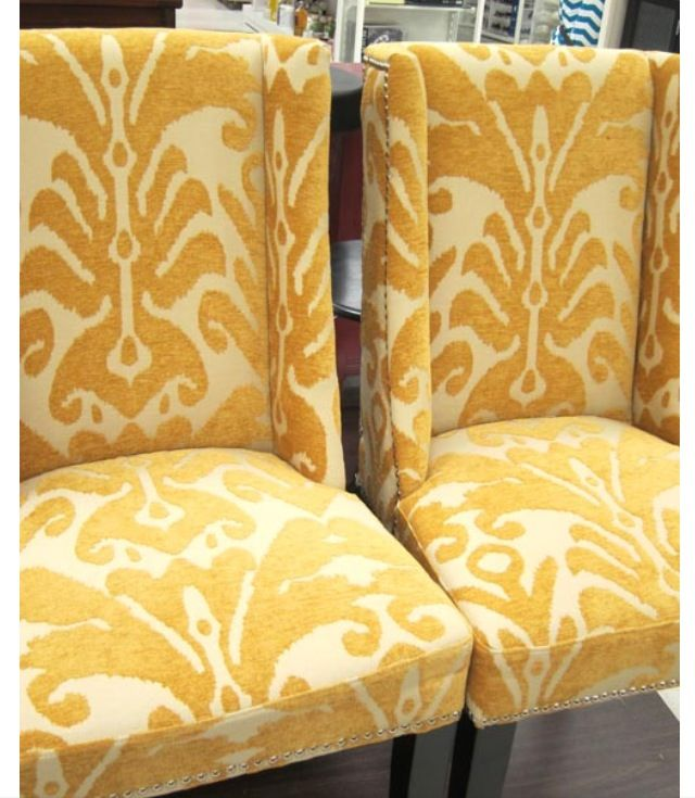 Fun, Bright, Dining Room Chairs
