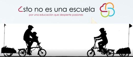 Bikes Silhouette / Sagoma Bici #logo - (Los documentales sobre educación alternativa triunfan en YouTube | Verne EL PAÍS)