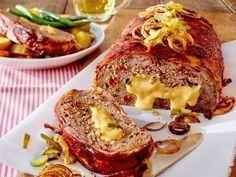 Cheeseburger-Braten Rezept   LECKER