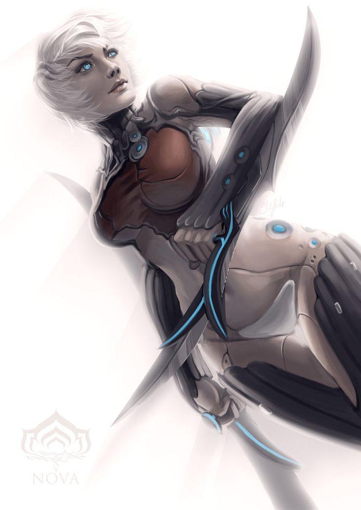 Warframe - Humanoid NOVA by ZliDe on deviantART