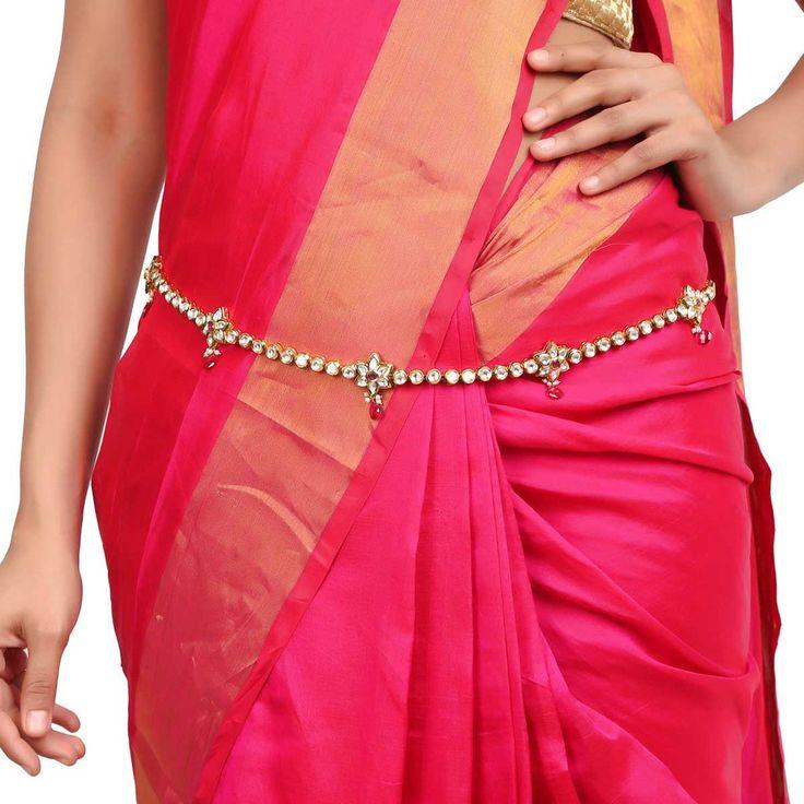Kundan Belt ACBELT1 #Kushals #Jewellery #FashionJewellery #IndianJewellery #WeddingAccessories #Belt  #Kundan