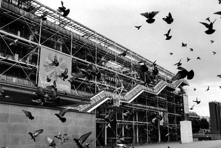 Centro Pompidou, Paris, 2007, (Arch. Renzo Piano). Fotografía de Gianni Berengo Gardin