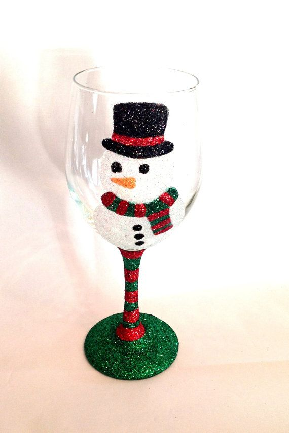 17 Best Images About Crafty Wine Glasses On Pinterest