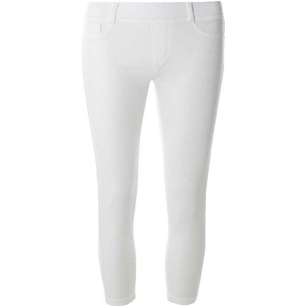White Capri Leggings Petite