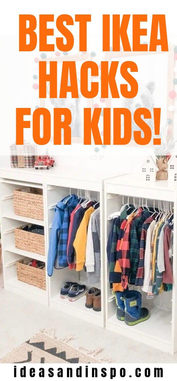 Cool IKEA Hacks Your Kids Will Love! in 2020 | Best ikea