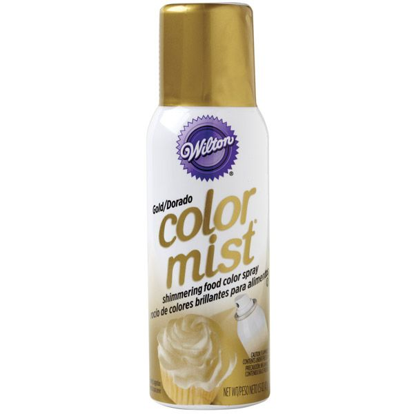 Gold Color Mist™ Food Color Spray to make cookie doubloons
