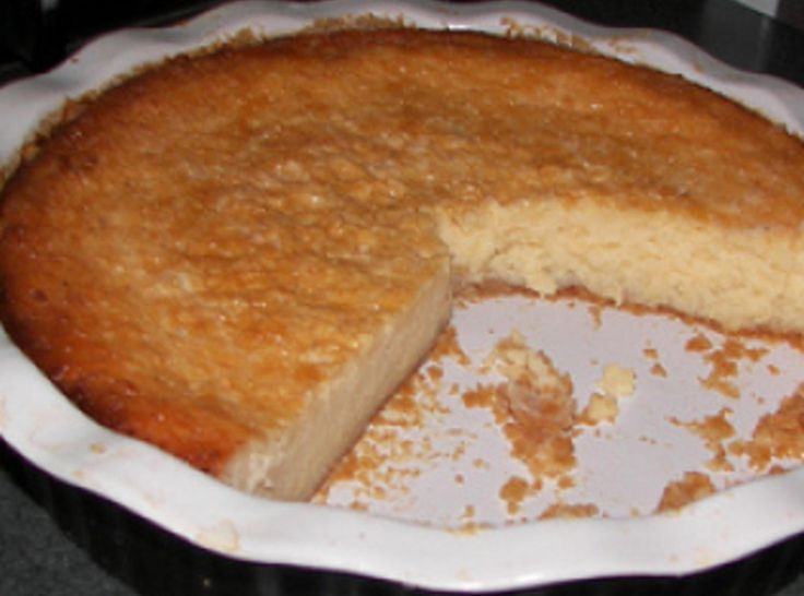 WHITE POTATO PIE