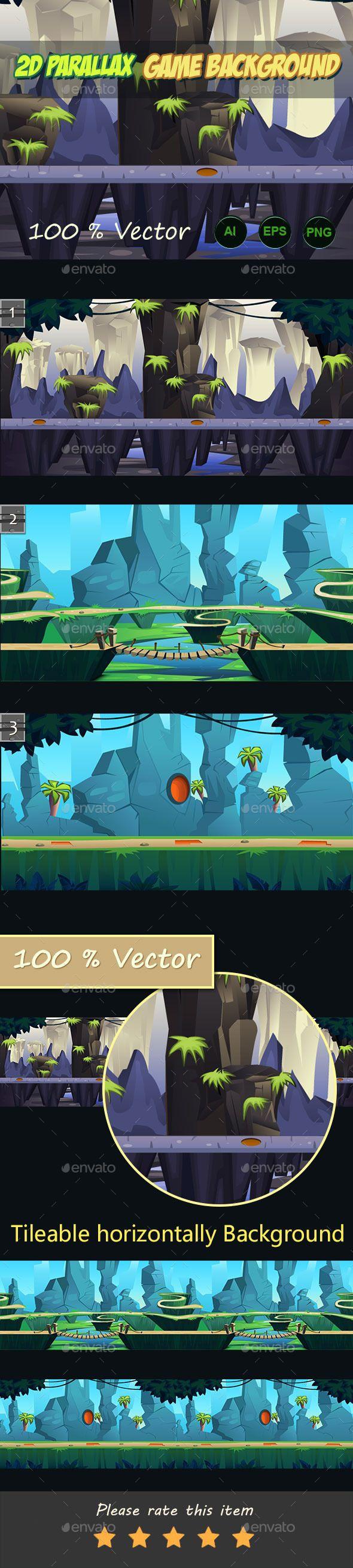 2d parallax game Backgrounds Download here: https://graphicriver.net/item/2d-parallax-game-backgrounds/11364895?ref=KlitVogli