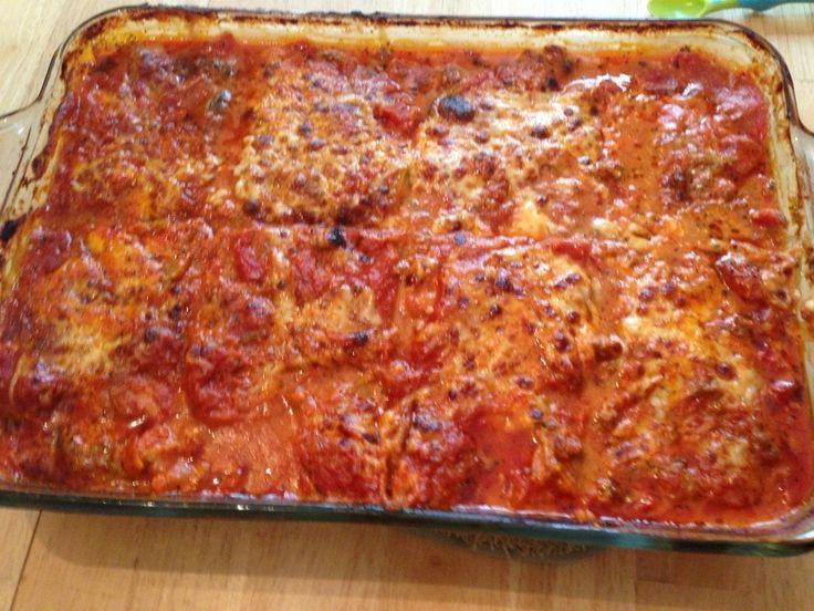 Healthy Zucchini Lasagna! | Recipes | Pinterest