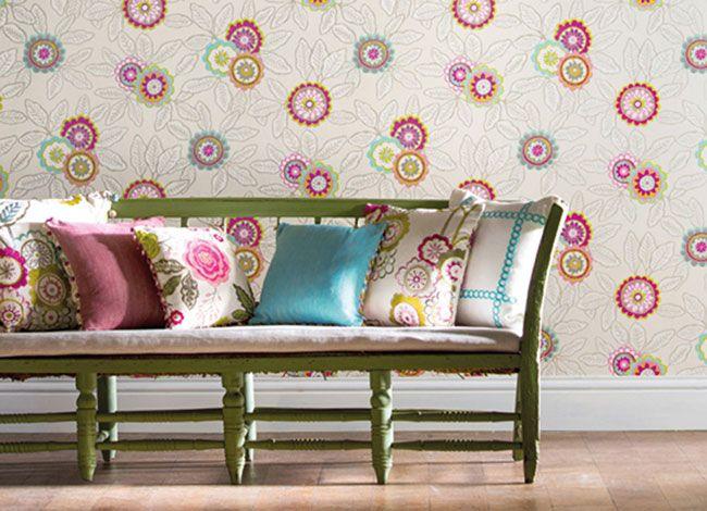 Harlequin - Jardin Boheme Wallpapers - available from Vanilla Interiors