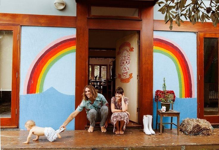 Путешествия, секс, мир. Дом-мечта хиппи в Австралии #FAQinDecor #design #decor #architecture #interior #art #дизайн #декор #архитектура #интерьер