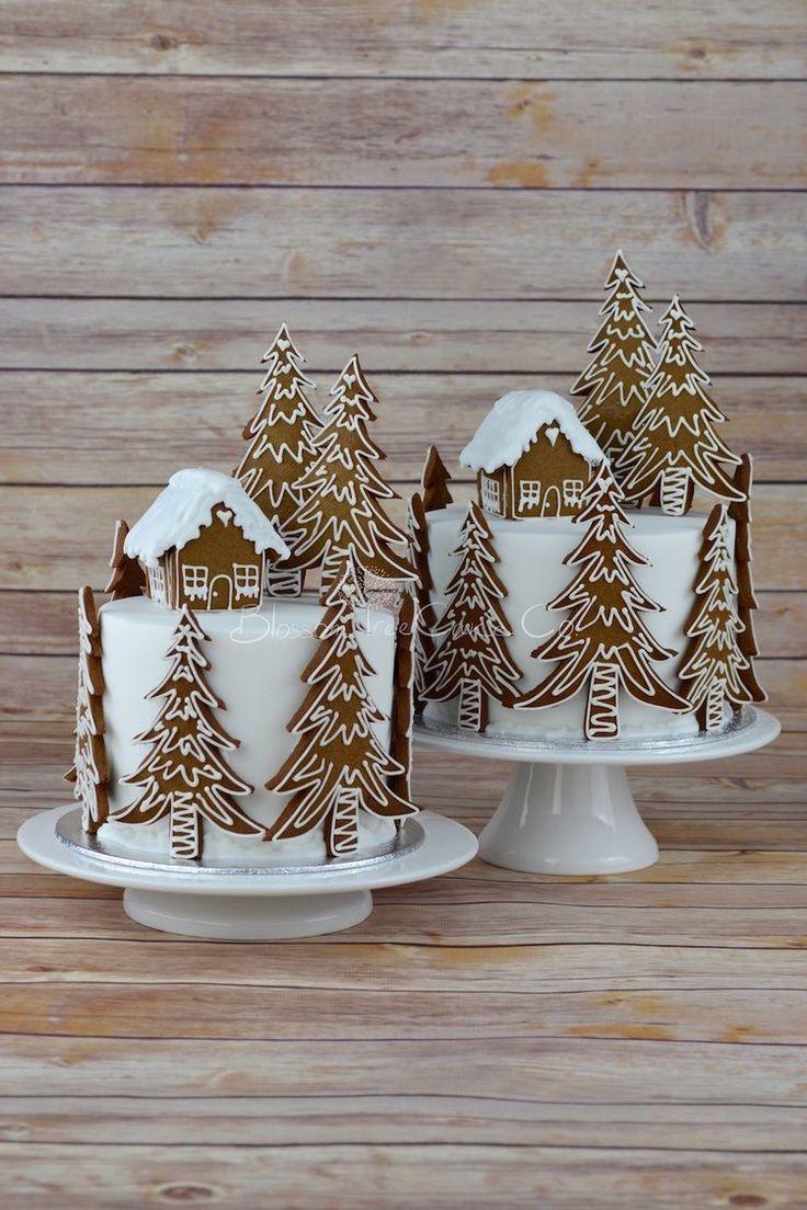 Lebkuchen Forest House Weihnachtskuchen von Blosso…