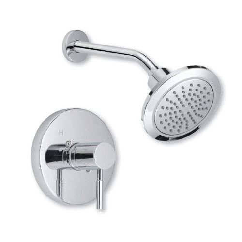 Mirabelle MIRED8020CP/MIR3001 Edenton Single Handle Shower Faucet - Polished Chrome at Ferguson.com