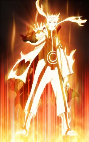 Naruto Nine-Tailed Fox Forms | Naruto Uzamaki (Naruto) is the host of the Nine Tailed Fox Demon.