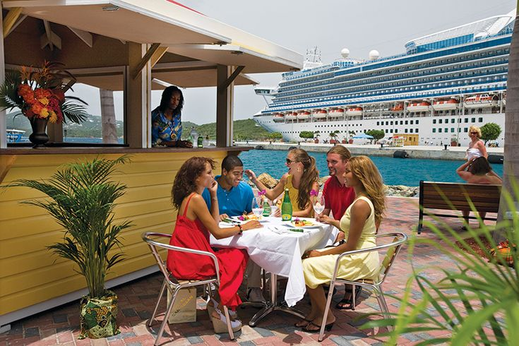 5. Island Flavours - Famous for their special Hibiscus, Mint and Island Blend lemonades, as well as delicious local dishes such as stewed mutton and johnny cakes, Island Flavor Restaurant offers a truly Caribbean experience on the waterfront at the Crown Bay Center. Soak up the tropical atmosphere and local beats, while watching luxury yachts and cruise ships pass by.  www.facebook.com/pages/Island-Flavor-Restaurant