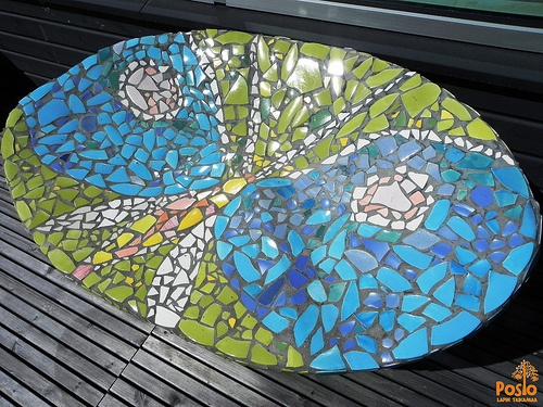 Mosaic chair