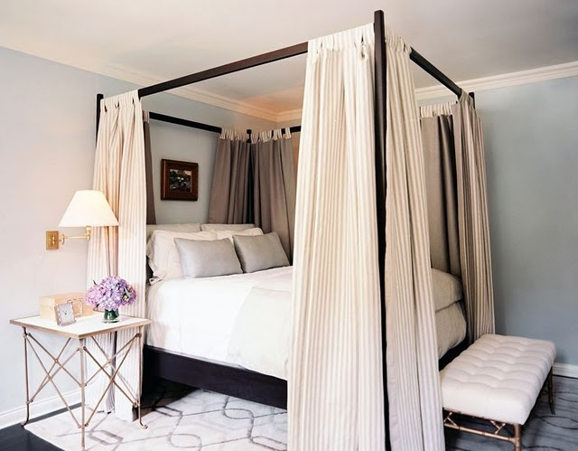 4 Post Bed Curtains 23 best home - canopy options for four-poster bed images on