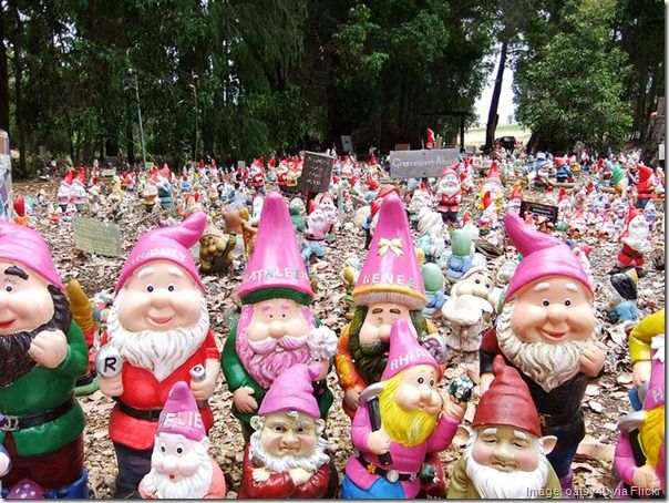 The Gnomes of Gnomesville, Western Australia - Wellington Mill and Ferguson Road, Wellington Mill
