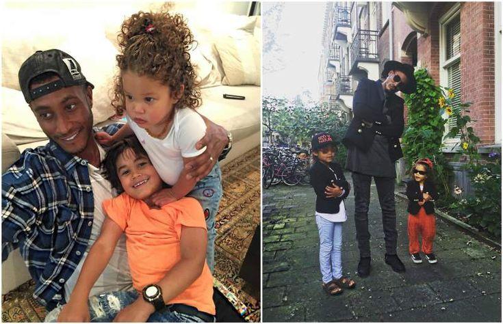 Doutzen Kroes and Sunnery James Gorre's kids