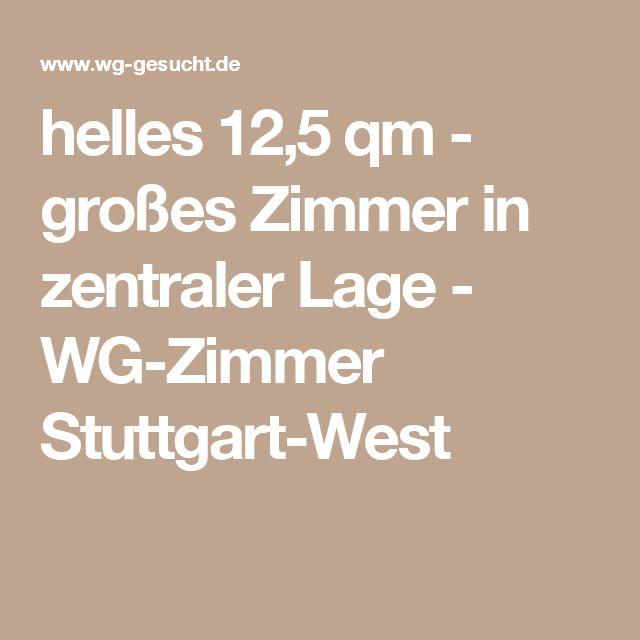 helles  12,5 qm - großes Zimmer in zentraler Lage - WG-Zimmer Stuttgart-West
