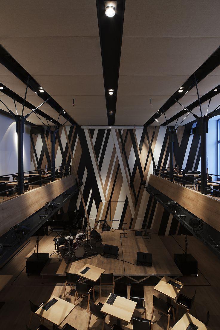 Shipping container music studio joy studio design gallery best - Gallery Of Budapest Music Center Art1st Design Studio 24