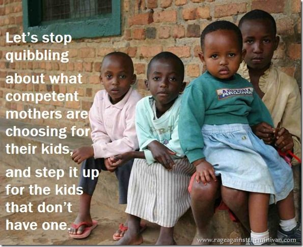 """""""Where is the mommy-war for the motherless child?"""""""