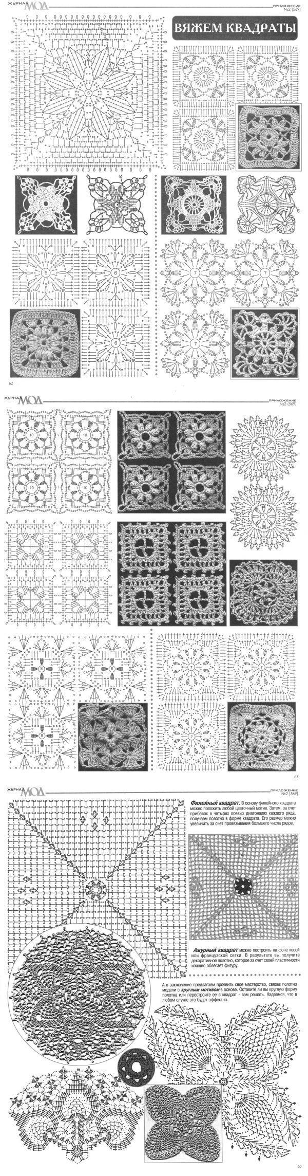 142 besten Häkeln crochet Bilder auf Pinterest | Stricken häkeln ...