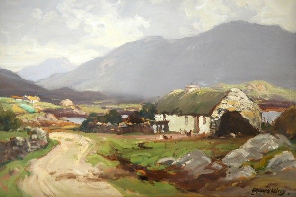 Frank Mckelvey Artist Landscape Art Irish Art Painting