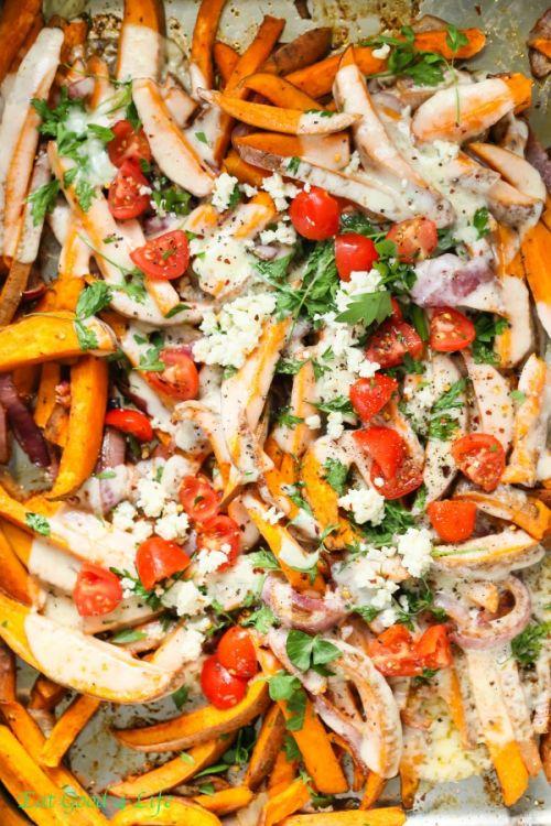 Chargés de pommes de terre & hellip douces cuits; Cliquez ici pour plus de nourriture photographie !.