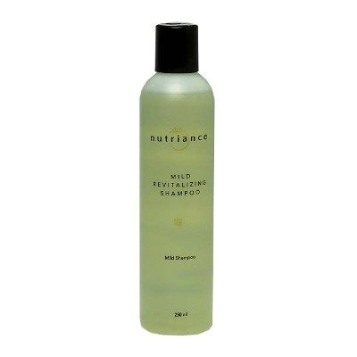 Mild Revitalizing Shampoo provides extra care for sensitive hair and scalp. A gentle and moisturizing formula enriched with Pro-Vitamin B5 (Panthenol) and Vitamin B3 (Niacinamide) as well as soothing Aloe Vera and Chamomile extract, will pamper any dry, fragile, sensitive or chemically treated hair and scalp.