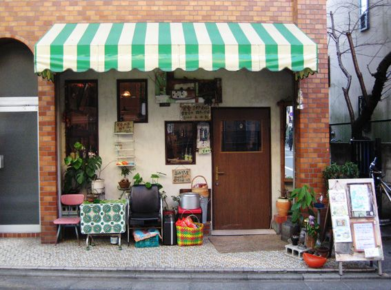 Little cafe in Japan