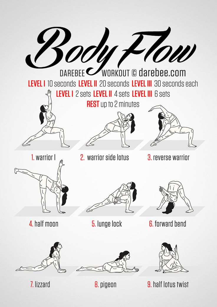 If you are new or an expert at Yoga, this is a great sequence. Remember, you can always modify a movement to make it less challenging. Need Help? Ask the staff!