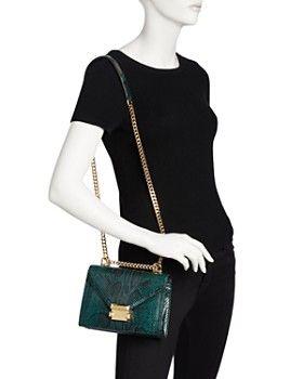 ec0783e86990 MICHAEL Michael Kors - Whitney Small Leather Shoulder Bag - 100% Exclusive  #Bloomingdales #Handbags #Purses #Accessories #Fashion #MichaelKors