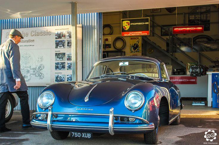 Porsche 356 à Goodwood Revival 2016 #MoteuràSouvenirs Reportage : http://newsdanciennes.com/2016/09/17/goodwood-revival-2016-toujours-au-top/