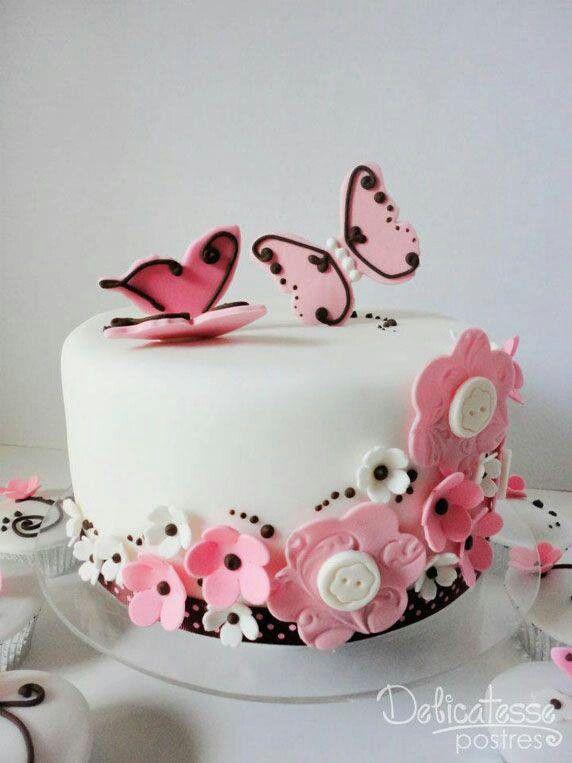 16 best TORTAS MARIPOSAS images on Pinterest Butterflies