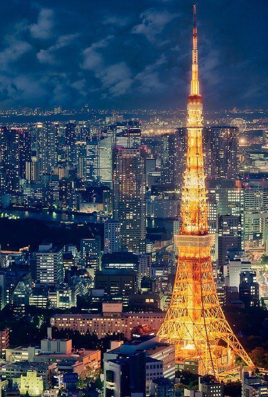 castelnou:東京タワー  東京(日本)  tokyo tower (japan)