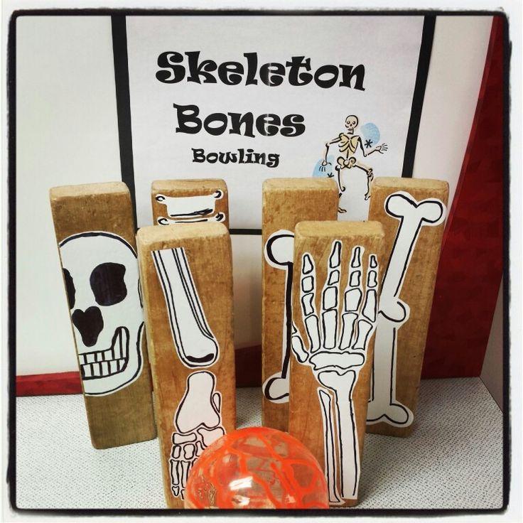 Skeleton Bones Bowling