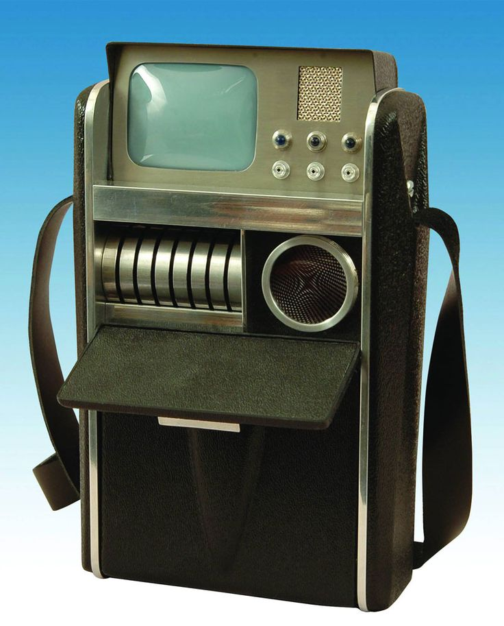 "Original Star Treck Tricorder.  ""Yikes, are you from the Future?""  Amazing how the 24th century seems so, I dunno, 1964-ish."