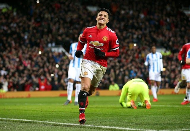 Manchester United manager Jose Mourinho has reacted to Alexis Sanchez goal against Huddersfield Town on Saturday.  The Chilean scored his first goal for Manchester United since his transfer from Arsenal.  Sanchez failed to score on his debut against Yeovil in the FA Cup last week and and also drew blank to during Wednesdays defeat to Tottenham.  However the 29-year-old showed a lot of energy at Huddersfield slotting home the rebound after his penalty had been saved by Jonas Lossl.  Mourinho…
