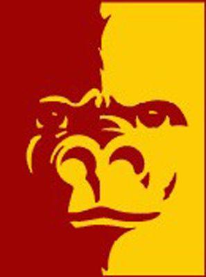 Pitt State Gorilla Split face! :)